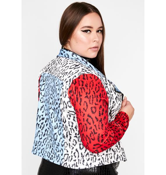 She's Straight Outta The Wild Moto Jacket