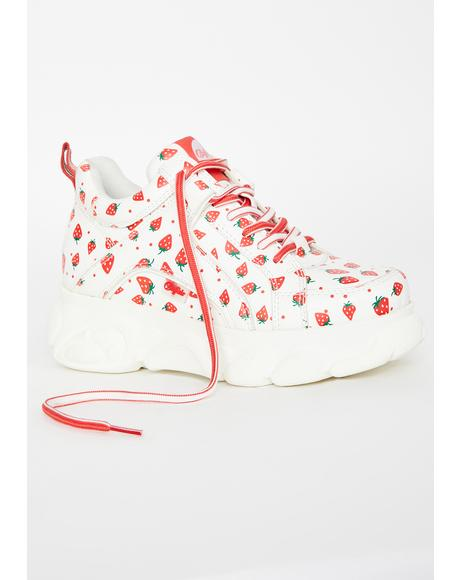 Strawberry Corin Platform Sneakers