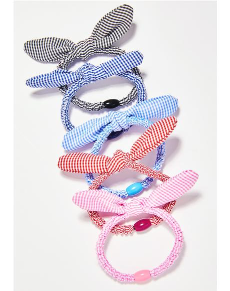 Picnic Princess Hair Tie Set
