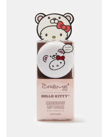 Hello Kitty Macaron Lip Balm White Chocolate