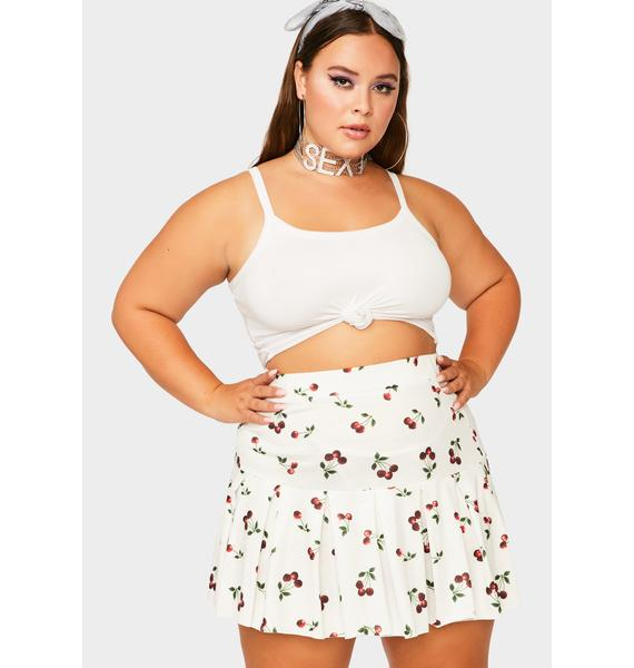 Vanilla My Sweet Secrets Pleated Skirt