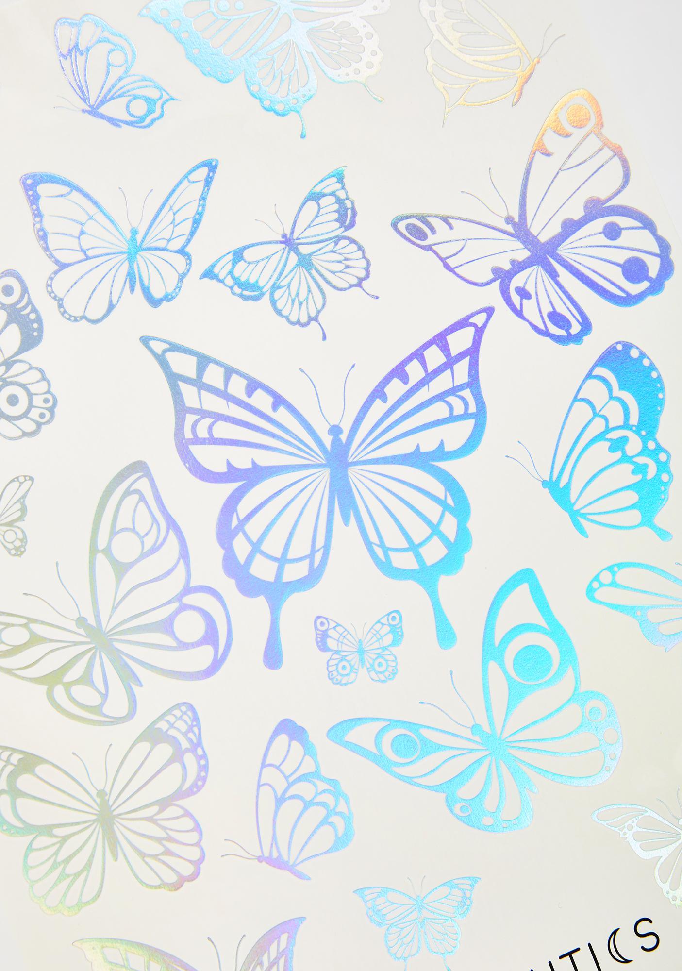 Lunautics Pretty Fly Temporary Tattoos