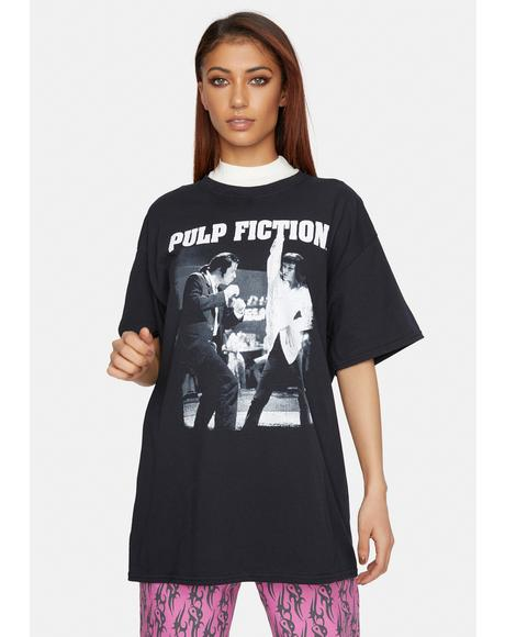 Dark Tyler Pulp Fiction Graphic Tee