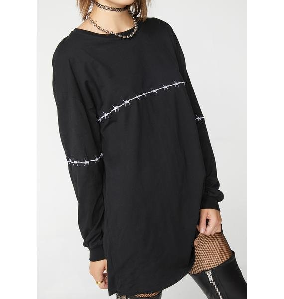 Motel Lotsun Oversized Shirt