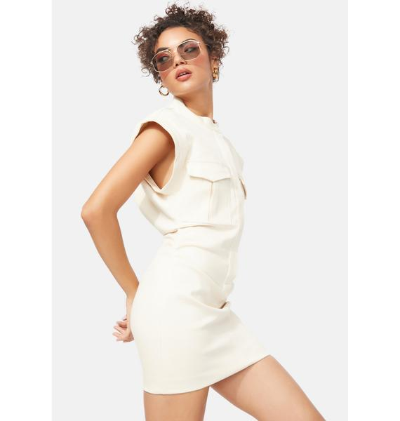 Ready Or Not Fitted Cargo Dress