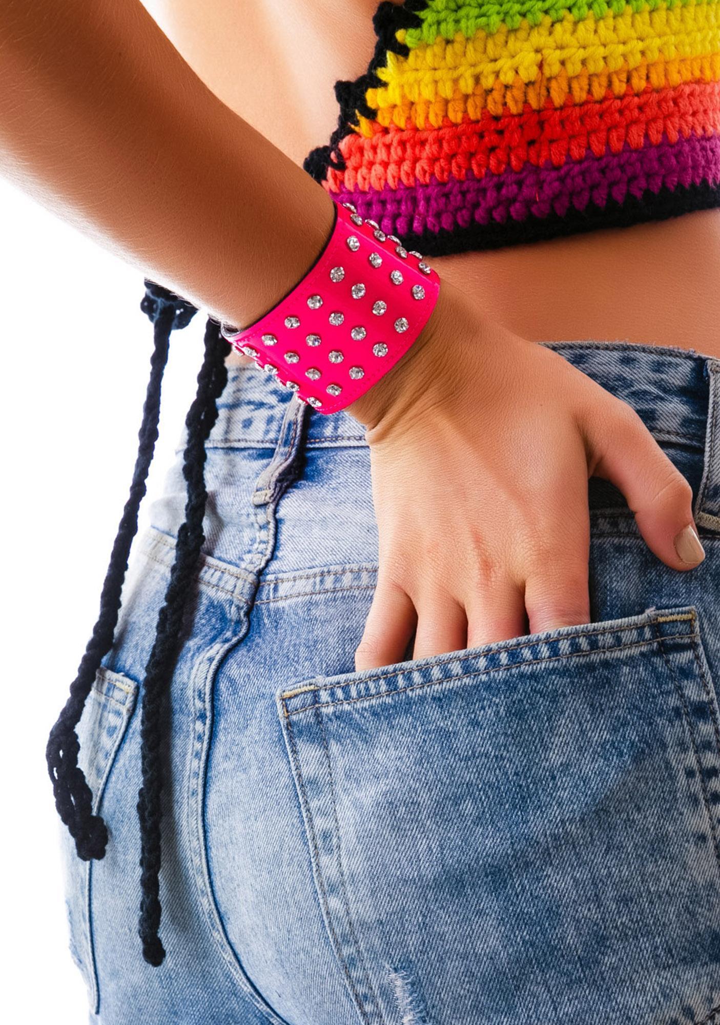 Starlight Rhinestone Bracelet