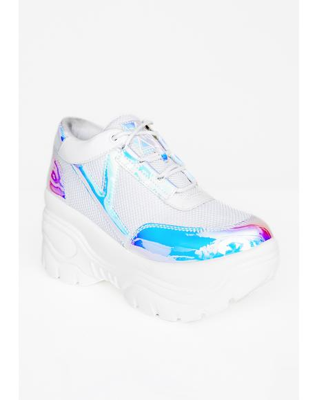Cosmic Matrixx Platform Sneakers