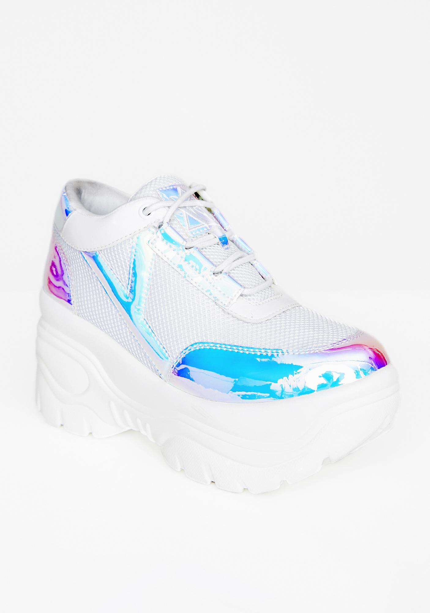 Y.R.U. Cosmic Matrixx Platform Sneakers