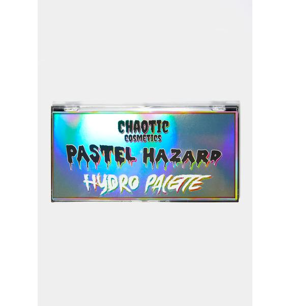 Chaotic Cosmetics Pastel-Hazard Hydro Eyeshadow Palette