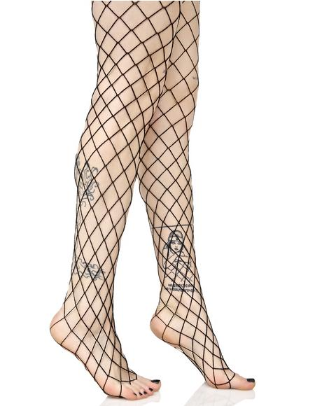Diamond Doll Fishnet Stockings