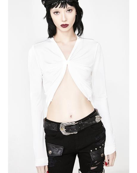 Icy V Cut Belly Top