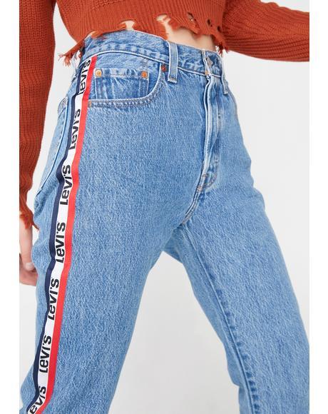 501 Crop Jeans