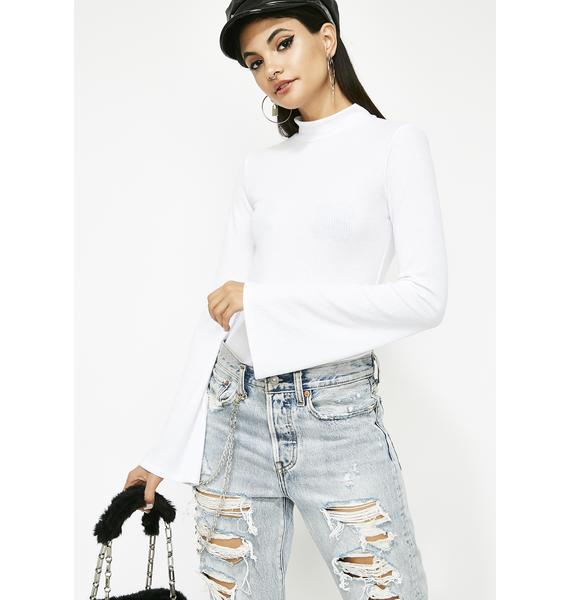 Icy Culprit Long Sleeve Top
