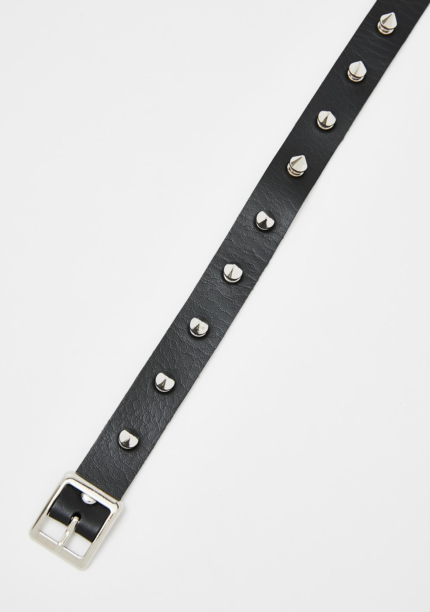 Brutal Babe Spiked Choker