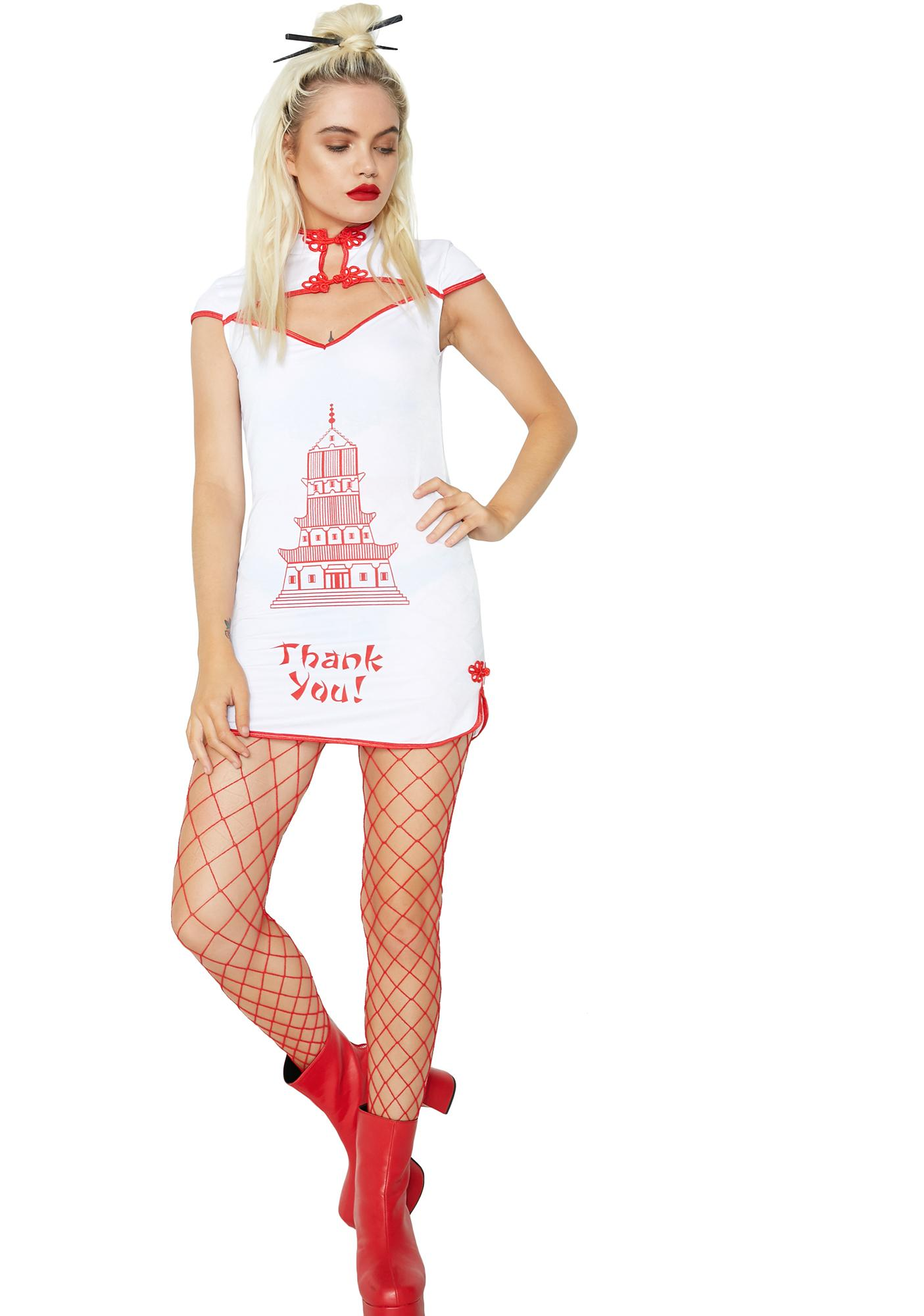Dolls Kill Take A Bite Costume Set