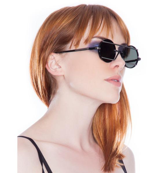 Peekabooda Triangle Bar Vintage Deadstock Sunglasses