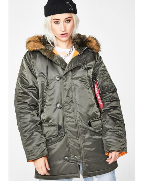 Slim Fit N-3B Parka