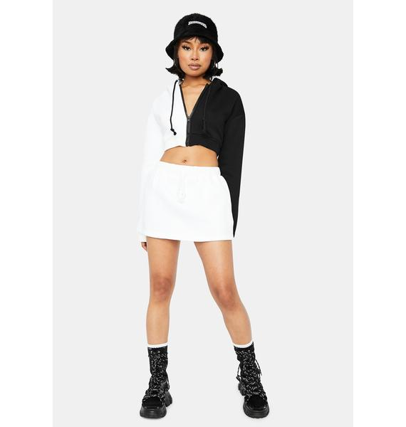 Pure True Confessions Sweat Skirt