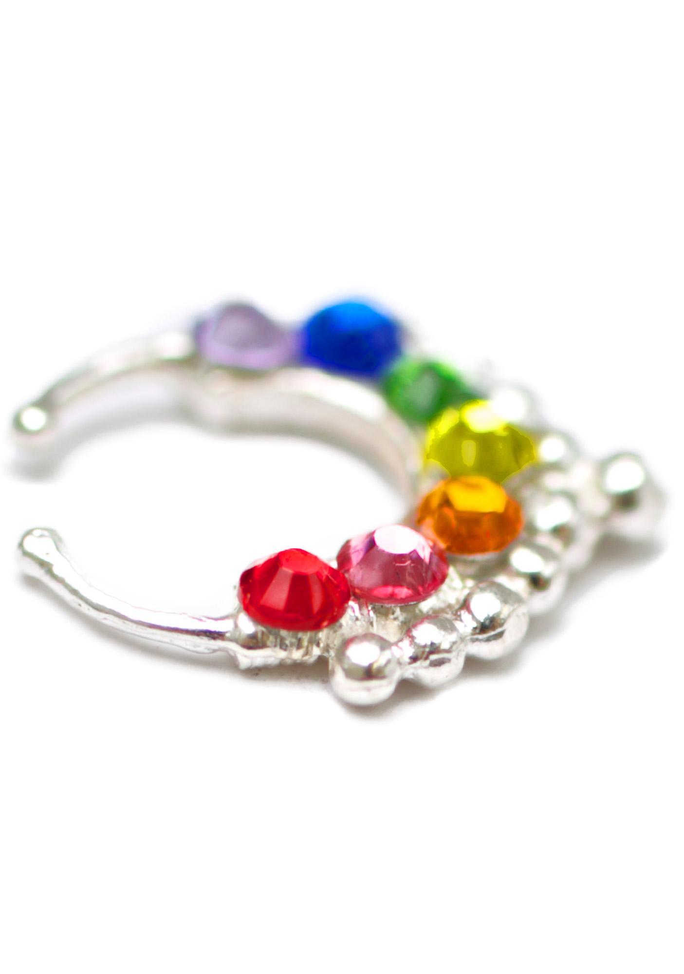 Vidakush Rainbow Dream Sadeh Septum Clip