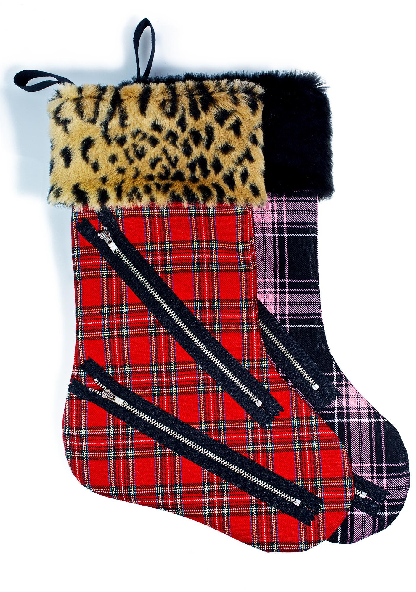 Anti Plaid Stocking