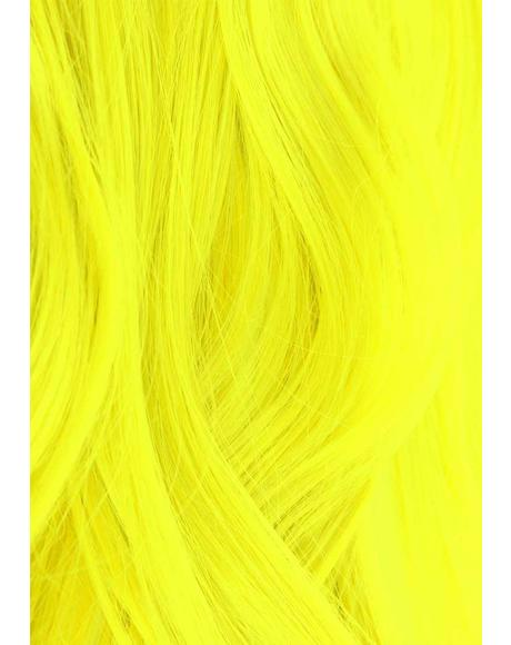 UV Reactive 300 Neon Yellow Hair Dye