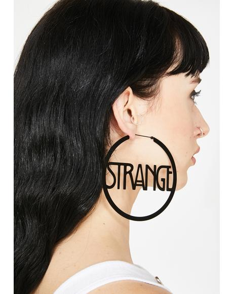Strange N' Unusual Hoop Earrings