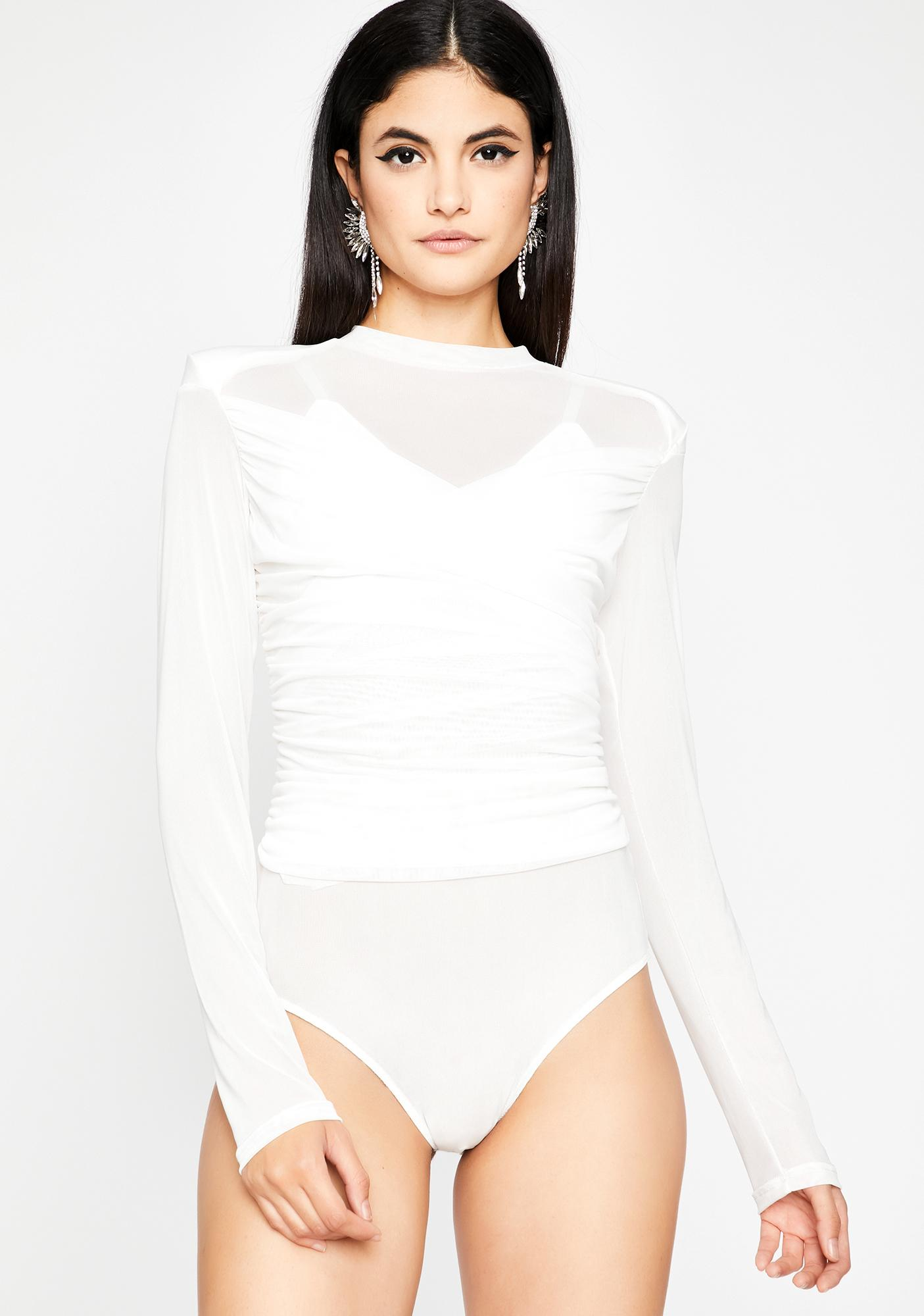 Look Twice Mesh Bodysuit