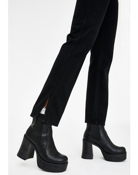 Back To Basics Straight Leg Pants