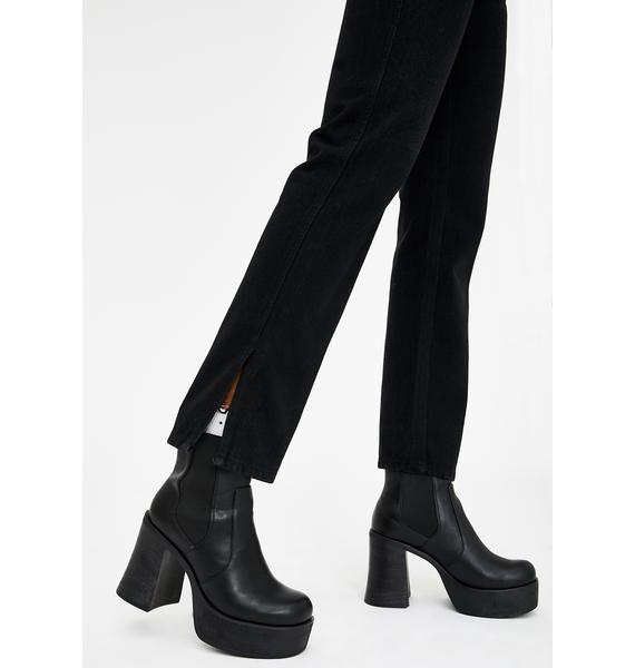 Current Mood Back To Basics Straight Leg Pants
