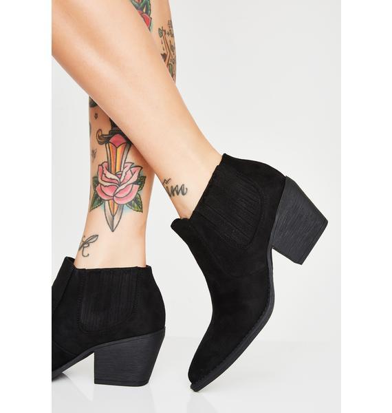 Struttin' Sass Ankle Boots