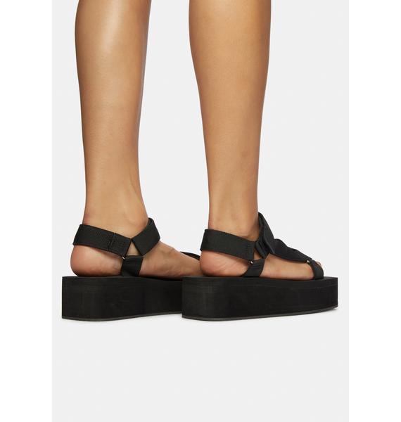 Wicked Gonna Getcha Platform Sandals