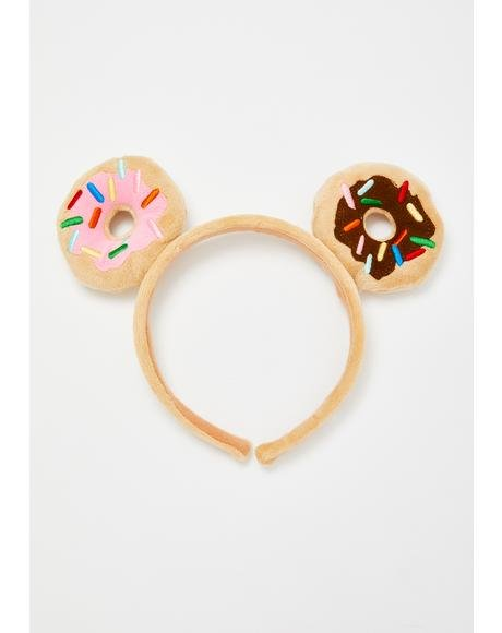 Donutella Plush Headband