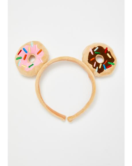 Donutella Plush Headband