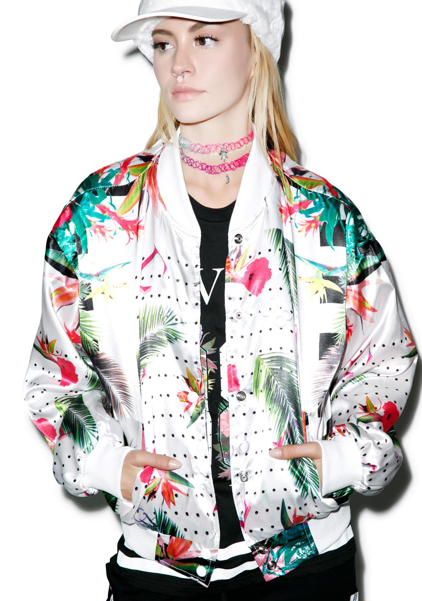 Civil Clothing Floral Bomber