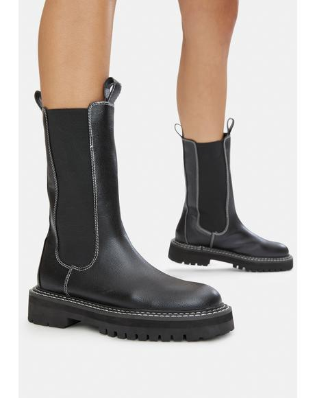 Animate Tall Chelsea Boots