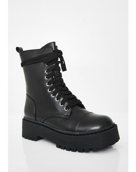 Karma Patrol Combat Boots