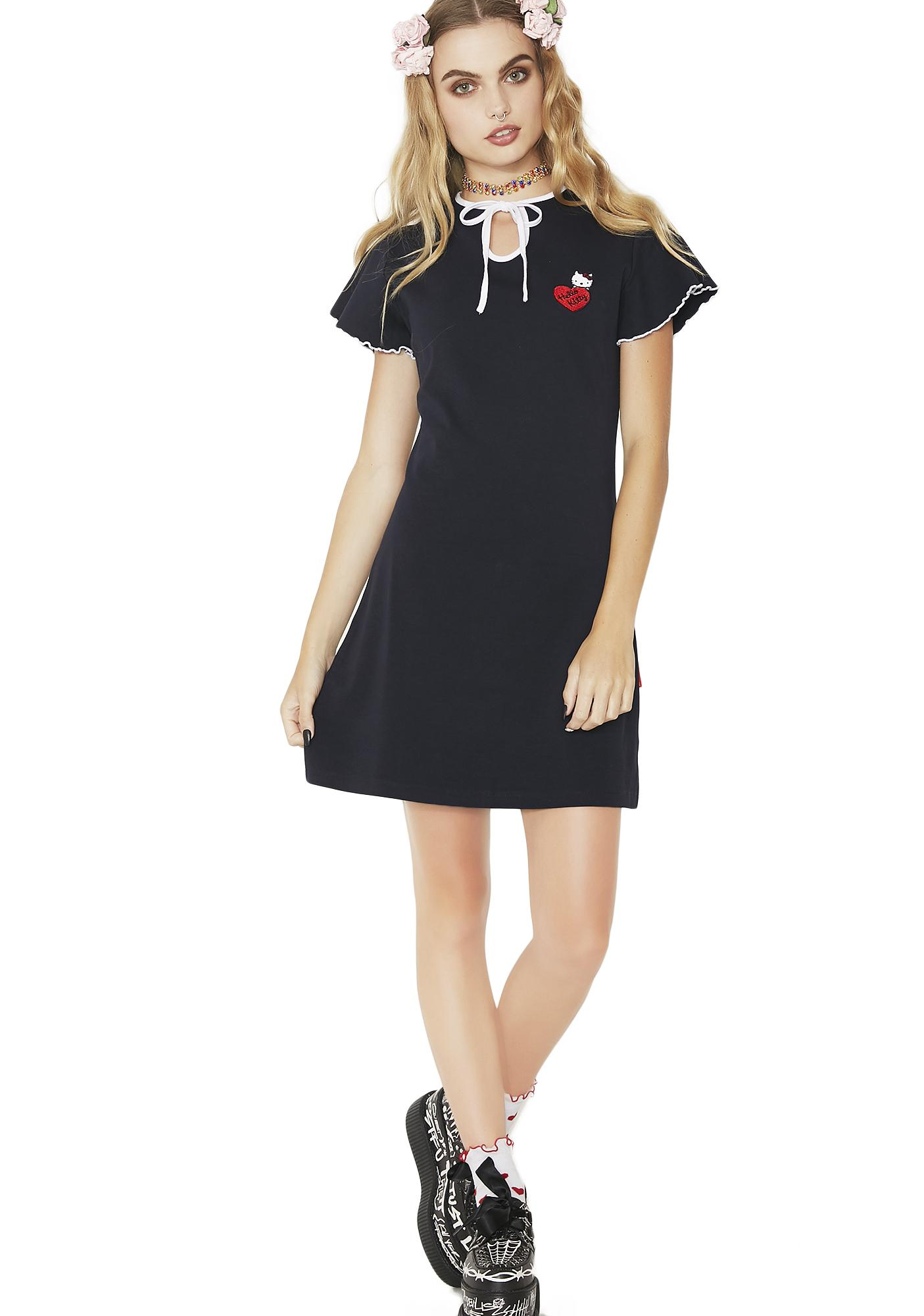 Lazy Oaf Hello Kitty Keyhole Dress