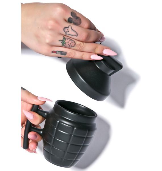 Catch A Grenade 4 U Mug