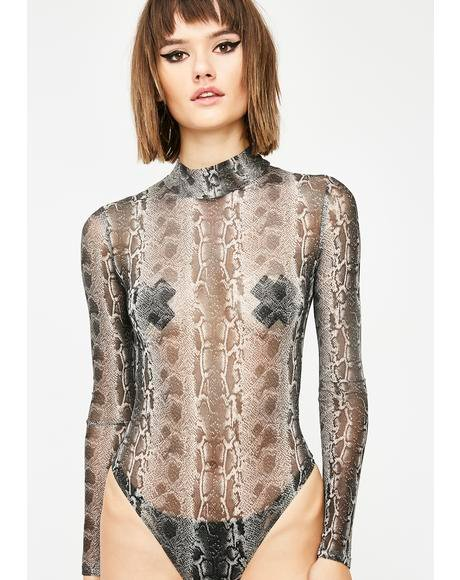 Livin' In Sin Sheer Bodysuit