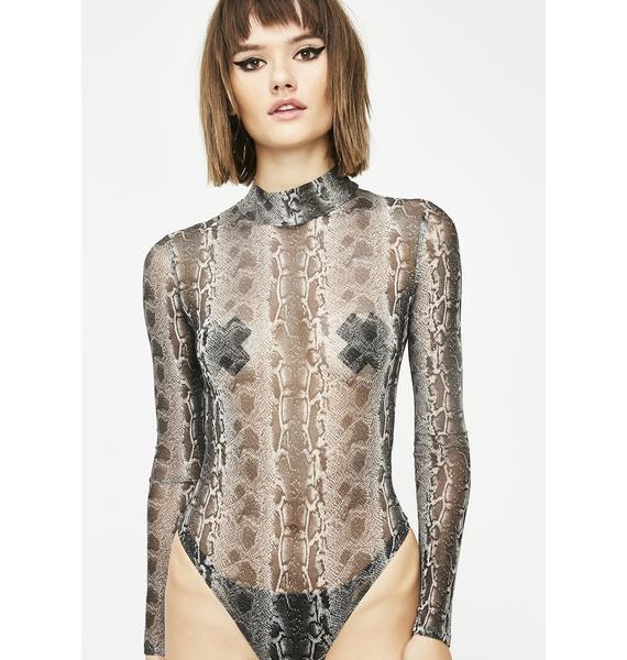 Livin' In Sin Sheer Bodysuit
