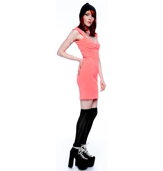 by Ronny Kobo Minnie Crepe Dress