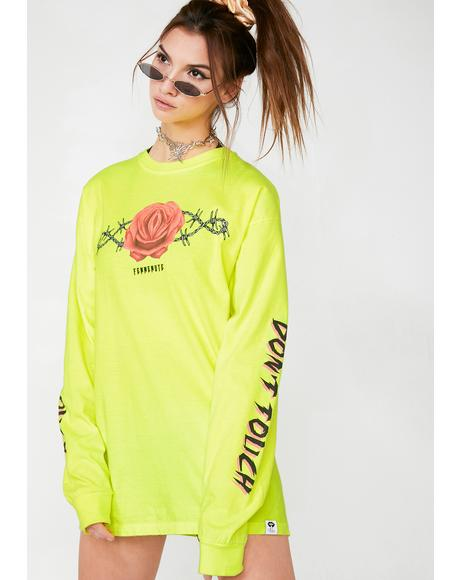 Don't Touch Long Sleeve Tee