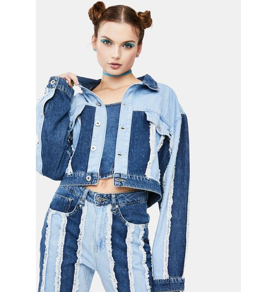 The Ragged Priest Outcast Denim Jacket