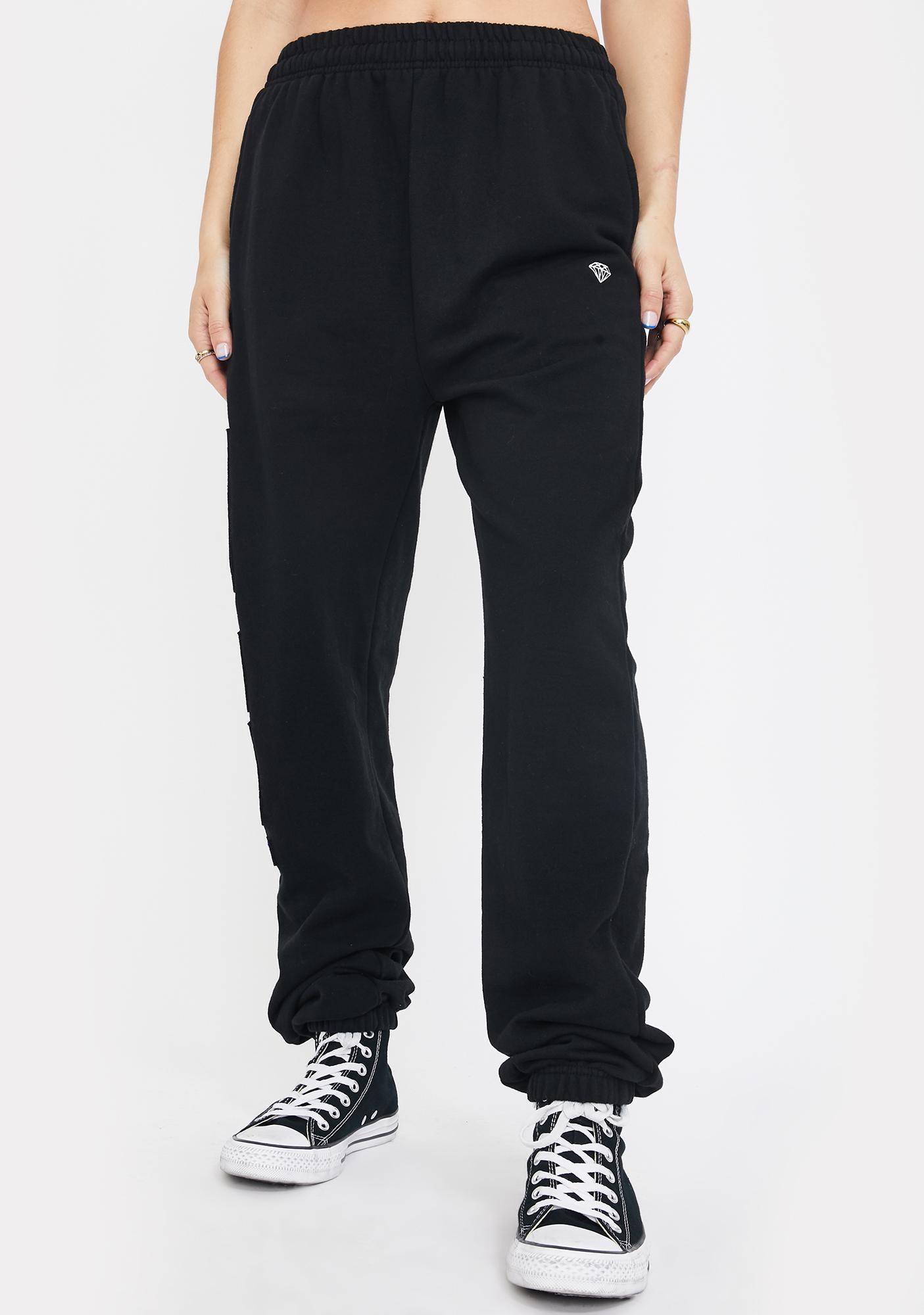 Diamond Supply Co X Cam'ron Purple Haze Sweatpants