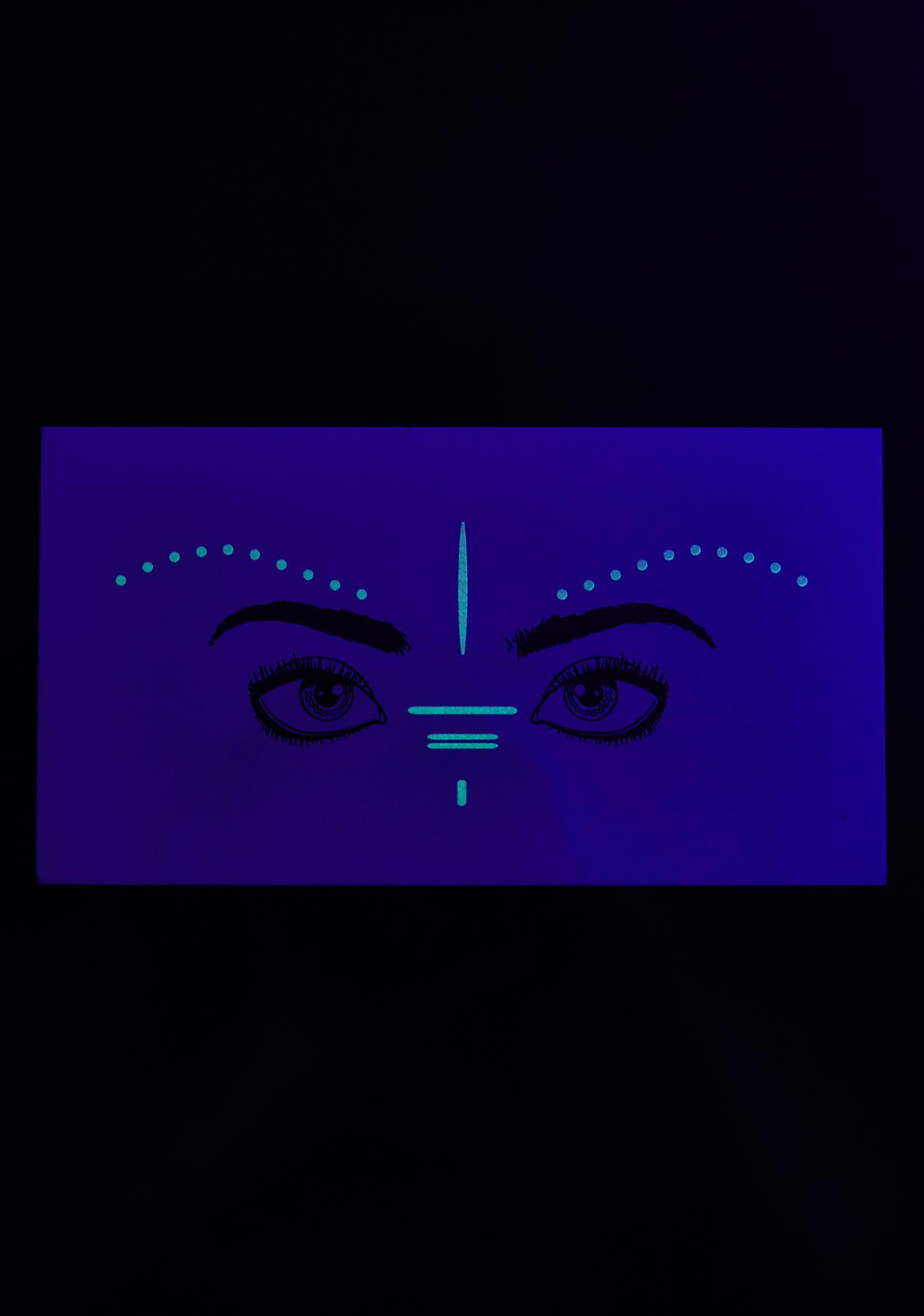 Magic & Manifest Burning Girl Glow In The Dark Freckles