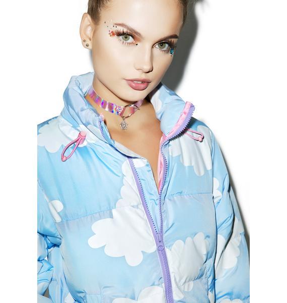 Lazy Oaf Cloud Puffer Jacket