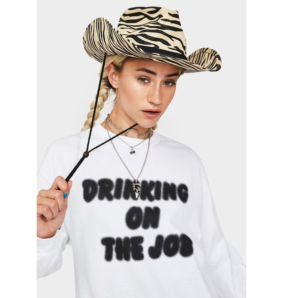 Beers On The Job Graphic Long Sleeve