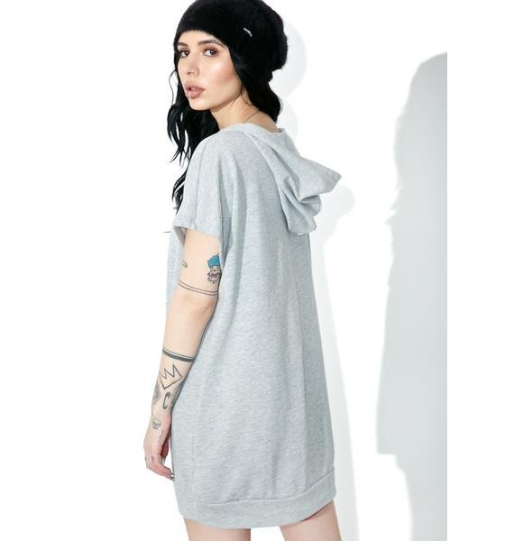 Flashdance Lace-Up Hoodie