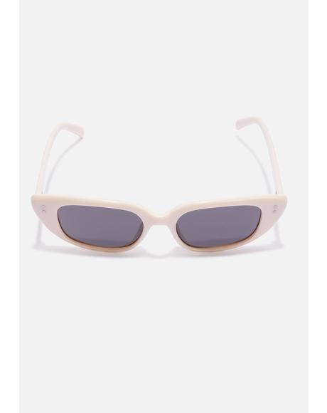Boo On Watch Cat Eye Sunglasses