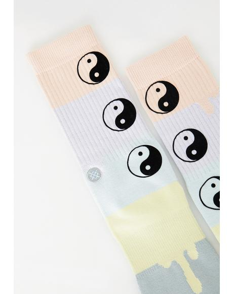 Yin To Yang Socks